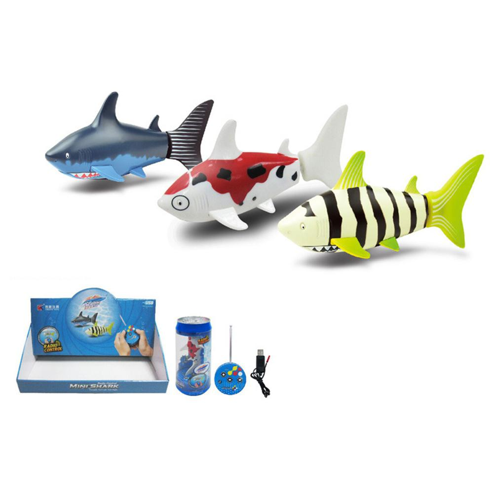 Hobbylane Remote Control Shark Swimmer, Mini RC Fish Boat Electric Toy, <font><b>27</b></font> <font><b>MHz</b></font> Radio Control , for Kids Gift image