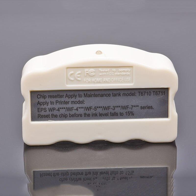 T6710 WF-7710 T6711 Resetter Chip de Tanque