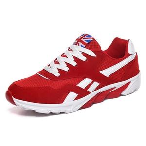 Image 2 - رخيصة كبيرة الحجم احذية الجري أحذية رياضية رجالية للركض Runing تنفس العلامة التجارية سلة أوم خفيفة Hombre 46 47