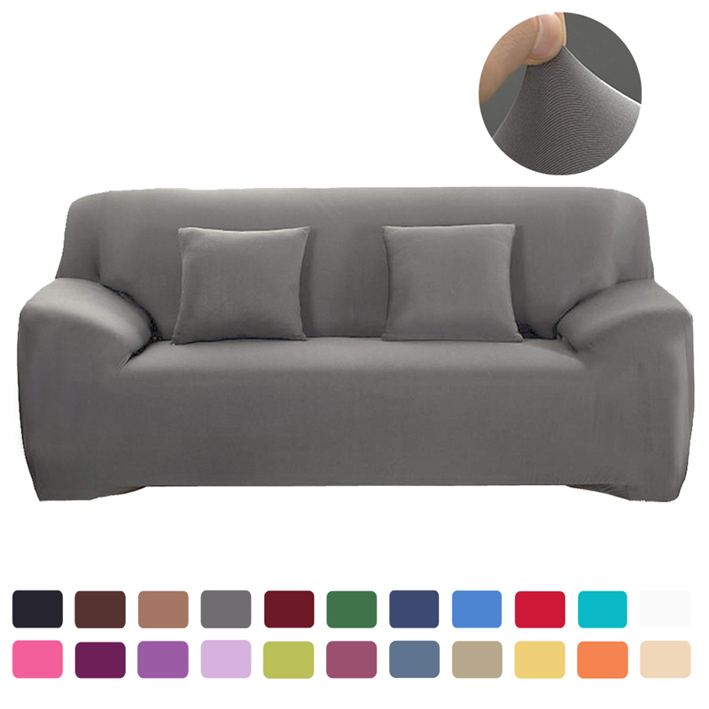 Sofa Cover Solid Color Sofa Covers Spandex Universal Modern Elastic Stretch Sofa Covers For Living Room Europe In Sofa Cover
