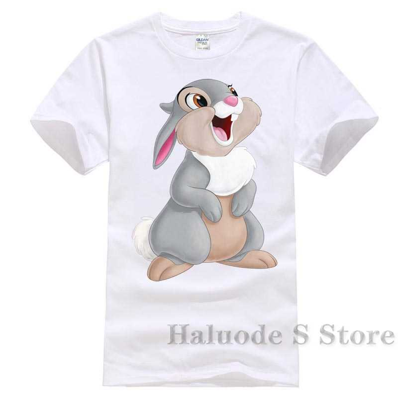 100% cotton Thumper Bambi Popular Tagless Tee T Shirt Funny New Pure Cotton Short Sleeves Hip Hop Fashion Animes T-shirt