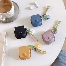 Designer Case for Apple Airpods Cute for Air Pod Bag Earpods Case Leather Blueto