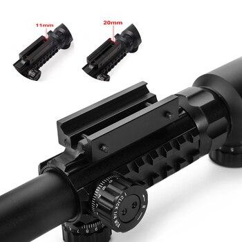 Three-sided rail 3-9x40EG Hunting Optic Riflescope Red Green Illuminated Tactical Air Rifle Optics Hunting Sniper Scopes Sight 4
