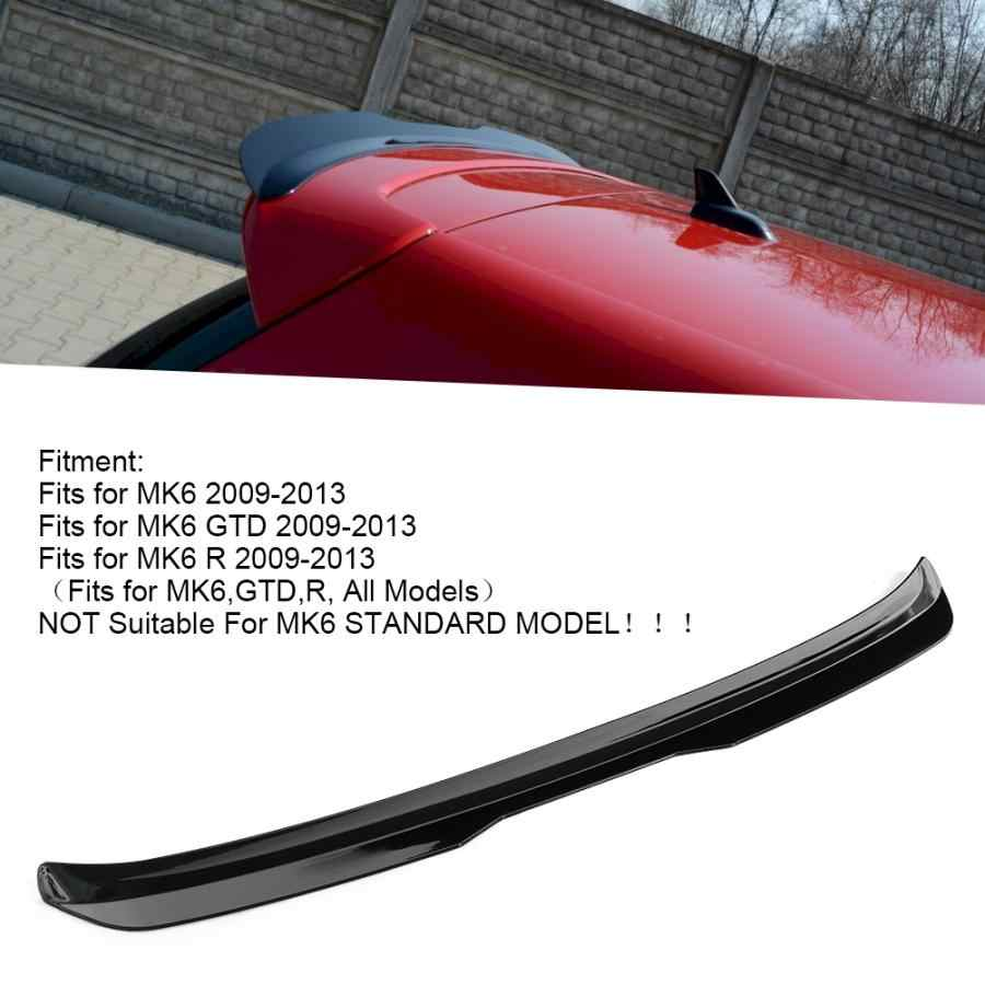 グロスブラック maxton スタイルリアルーフフォルクスワーゲンゴルフ 6 gti r R20 2009-2013