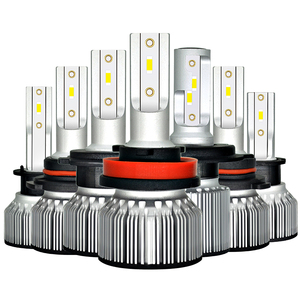 Image 1 - Car Headlight Bulb H4 LED H1 H3 9005 9006 HB4 H13 9004 9007 880 881 H27 Led Auto Lamp Light 12V Lampada H7 24V H11 12000LM 6000K