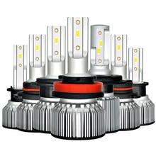자동차 헤드 라이트 전구 H4 LED H1 H3 9005 9006 HB4 H13 9004 9007 880 881 H27 Led 자동 램프 12V Lampada H7 24V H11 12000LM 6000K