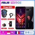 Абсолютно Новый ASUS ROG PHONE 3 5G смартфон 12 г 256 Snapdragon 865/865 плюс NFC мобильный телефон OTA Update 6,59 ''6000 мАч для телефона с мотивами игр