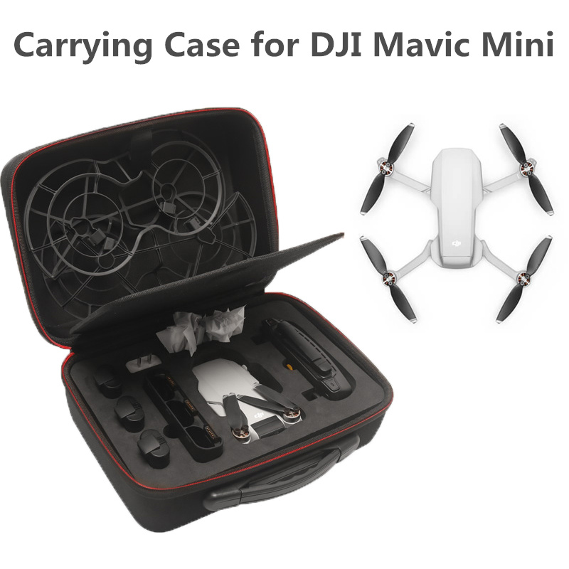 Portable Shoulder Bag EVA For DJI Mavic Mini Travel Carrying Case Nylon Handbag Box For Mavic Mini Drone Accessories
