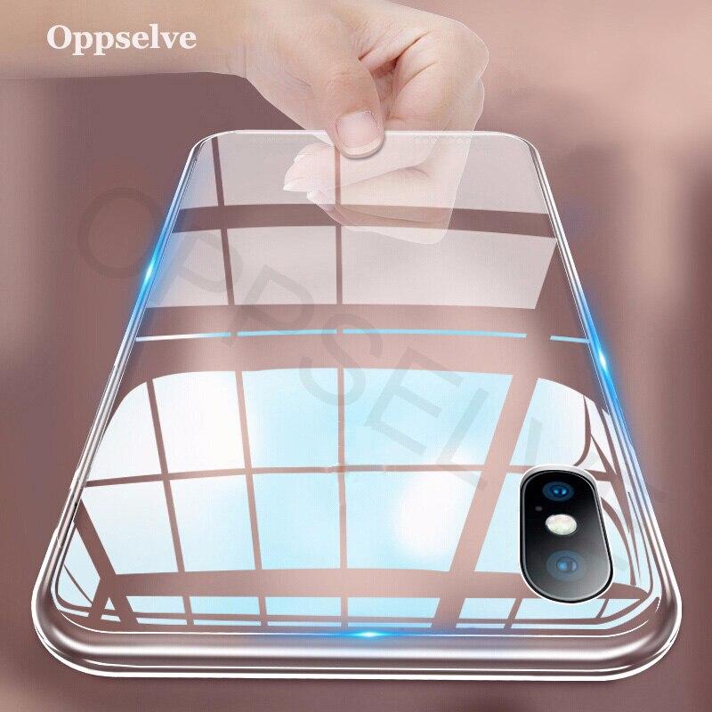 Étui pour iPhone de luxe X XS 8 7 6 s Plus Capinhas Ultra mince mince étui en silicone souple pour iPhone XR 8 11 7 Coque Fundas