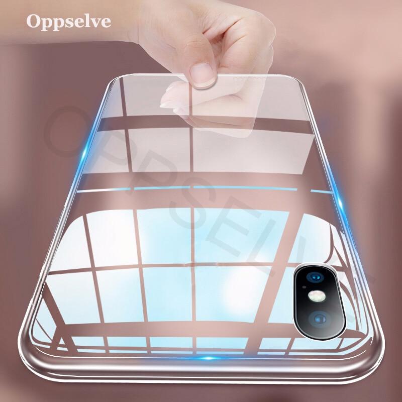 Caso de luxo para iphone x xs 8 7 6 s mais capinhas ultra fino tpu macio capa de silicone para iphone xr 8 11 7 coque fundas