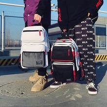 Coloured Shoulder Bag for Junior High School Students Harajuku Bag  Bookbag  Cute Backpack  Men Backpack  Travel Backpack все цены