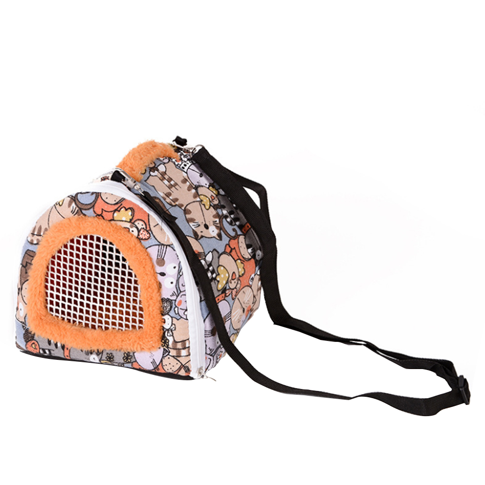 Portable Small Pet Travel Bag Hamster Carrier Breathable Outdoor Hedgehog Pet Bag