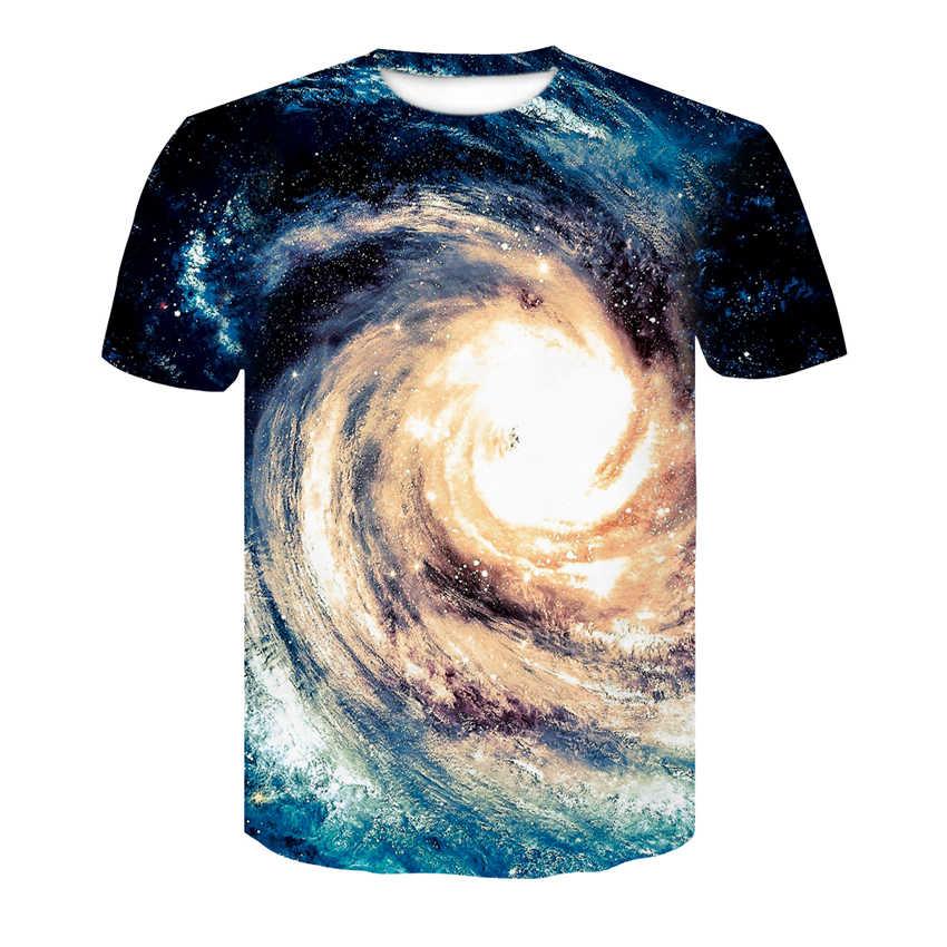 3d tshirt t camisa masculina tshirt impresso galáxia espaço anime roupas psychedelic tshirts casual arte t-shirts 3d universo planeta