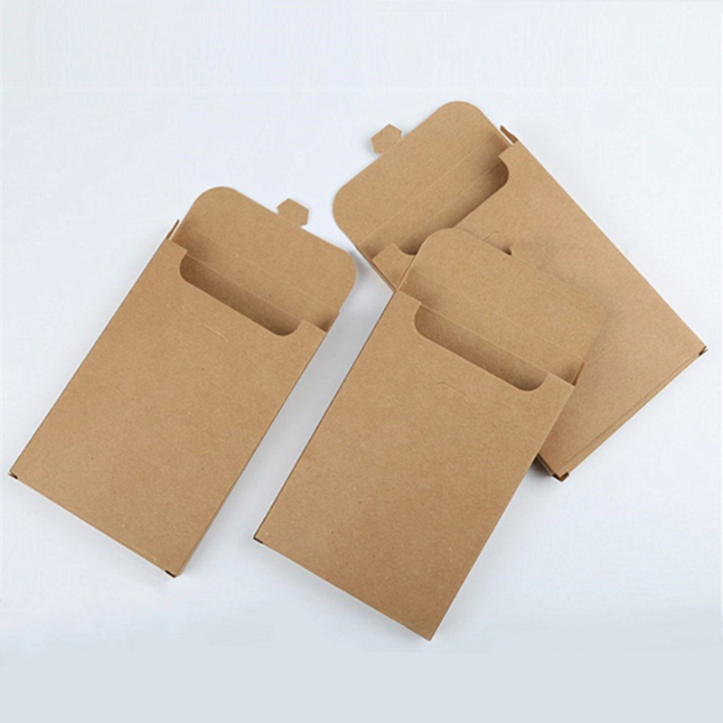 50pcs Kraft Paper Envelope Party Invitation Card Letter Stationery Packaging Bag Gift Greeting Card Postcard Photo Box