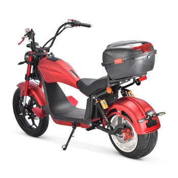 2021 Factory Supply EU Warehouse 2000W 20Ah Hydraulic Shock Absorber Adult Citycoco Electric Motorcycle Scooter 2