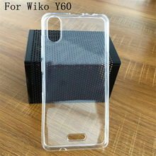Voor wiko Y60 Transparant Silicon Case voor wiko Y60 voor wiko Y80 voor wiko Y70 Natuur soft Phone cover Cases>(China)