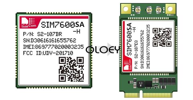 SIM7600SA-H MINIPCIE CAT1 LTE Module,MINIPCIE Interface ,100% Brand New Original, SIM7600SA