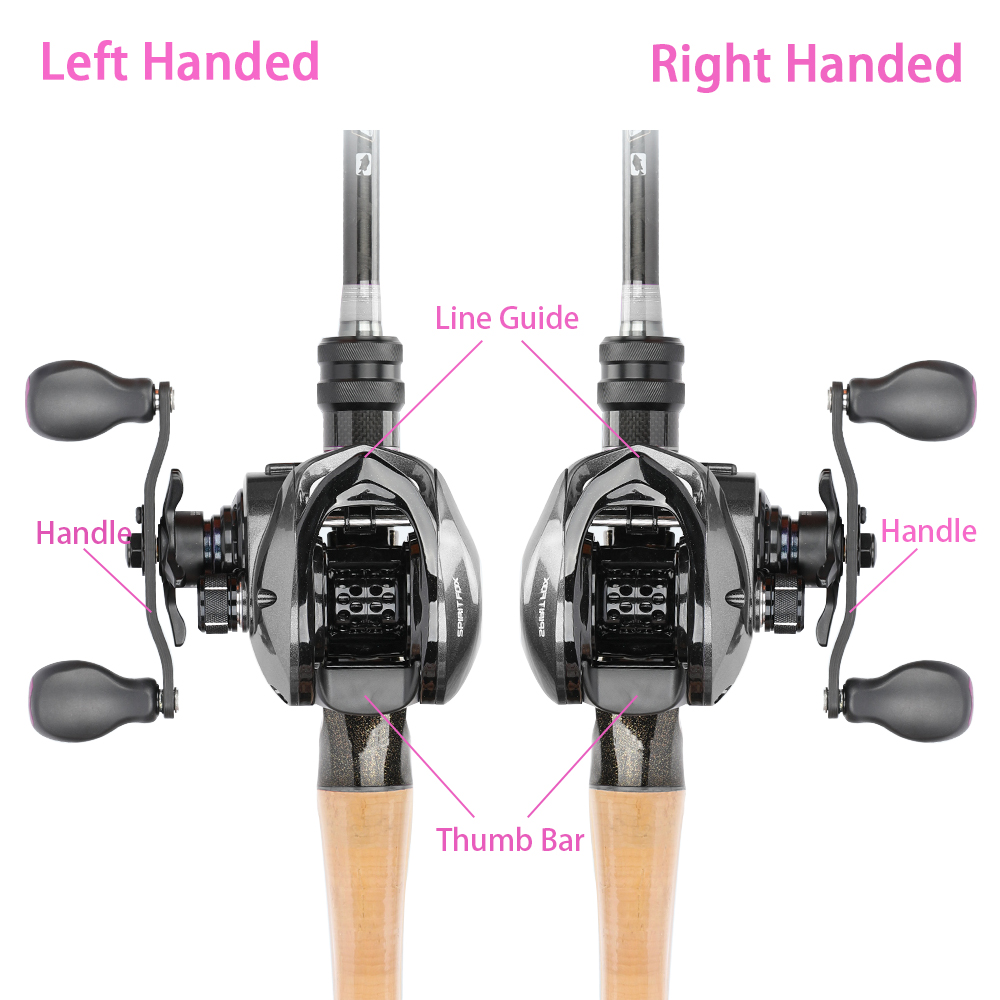 TSURINOYA Ultralight Baitcasting Fishing Reel SPIRIT FOX Weight 165g 8+1 Bearing TROUT Reel Smoth Left Right Hand Reels