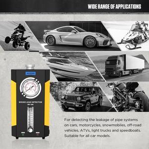 Image 4 - AUTOOL SDT 206ควันเครื่องกำเนิดไฟฟ้าสำหรับรถยนต์Smog Tester Leak Locatorรถยนต์ควันรถเครื่องตรวจจับท่อDiagnostic