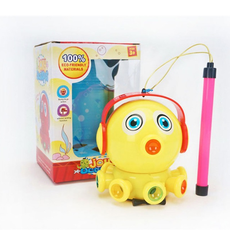 Creative Universal Light Music Toy Car Children Model Electric Cartoon Octopus Hand Lantern Toy