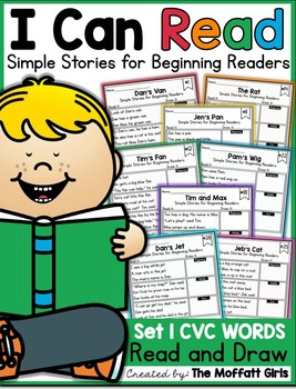 I Can Read:Simple Stories for Beginning Readers learning English Reading, Short Stories, Phonics Homeschool PDF electronic file image