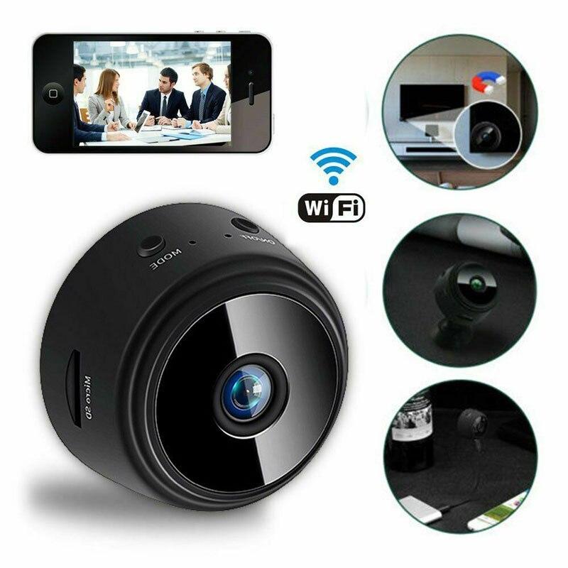 Mini Camera Remote-Monitor Night-Magnetic Home-Security 1080P A9 Wireless APP Original