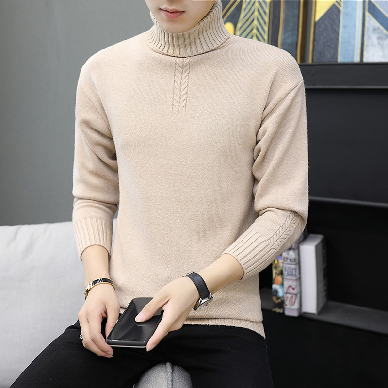 Green Sweater Men Sapphire Blue Purple Long Sleeve White Black Grey Turtleneck Turtleneck Winter Winter Mens Sweater Casual