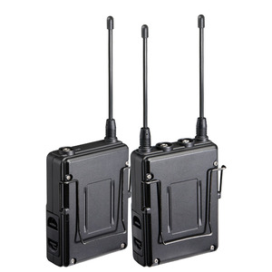 Image 5 - Saramonic UWMIC9 Broadcast UHF Camera Wireless Lavalier Microphone System Transmitters +One Receiver for DSLR Camcorder