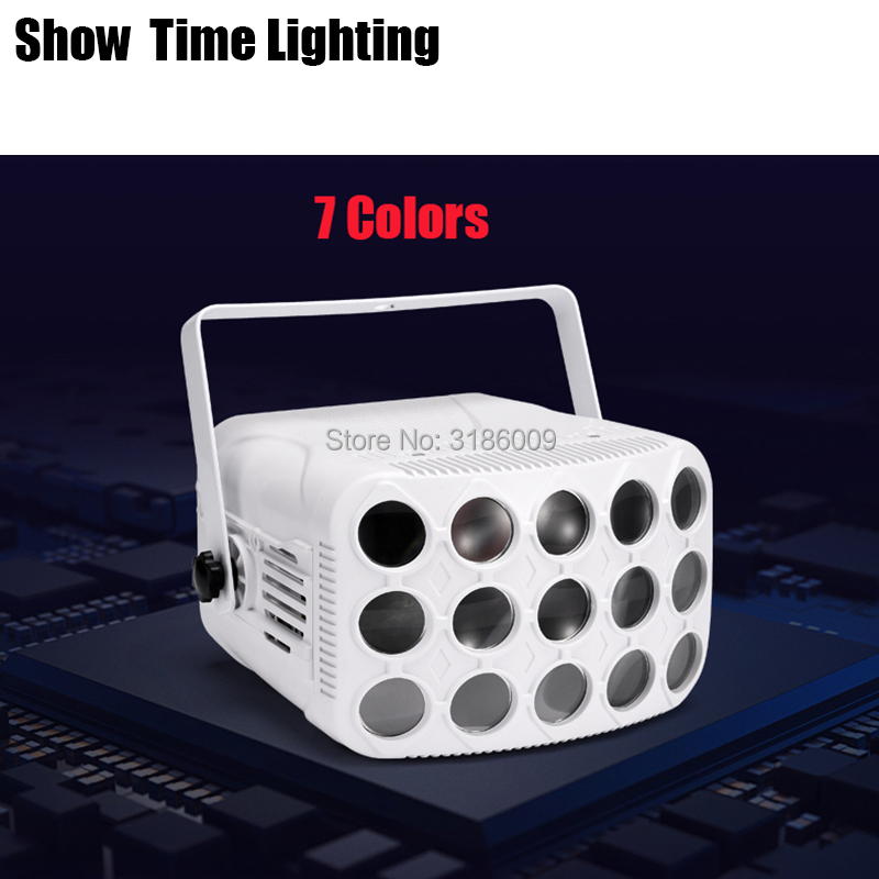 Fast Delivery Disco 7 In 1 Led Colorful Butterfly Dj Light Good Effect Use For Home Entertainment Party KTV Nightclub Dance