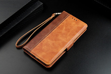 PU for iPhone 7 8 xs max xr 6S 6 Plus Case 5 5s se 8Plus 7Plus 6Plus Flip stitch Leather Coque Luxury Funda Two tone Wallet Case цена и фото
