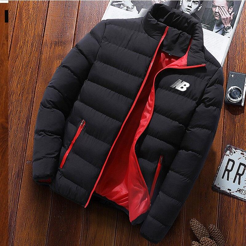 Brangdy men's winter brand new casual warmth thick waterproof jacket parka coat men's new autumn windproof hood parker jacket me