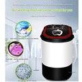 Домашняя обезвоживающая машина Elution интегрированная одностворчатая шайба полуавтоматическая маленькая стиральная машина для одежды для о...