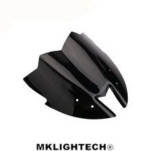 Motorcycle Black Windshield WindScreen Viser VIsor new style Fits For kawasaki z800 2012 2013 2014 2015 2016 Double Bubble