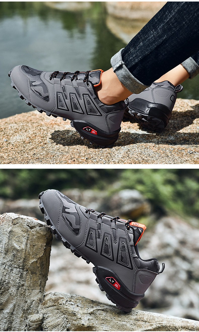 Seedstar Shoe Men Hiking Shoes Outdoor Sneakers for Men Lightweight Outdoor Jogging Shoes Mountain Shoes for Men Trekking Shoes