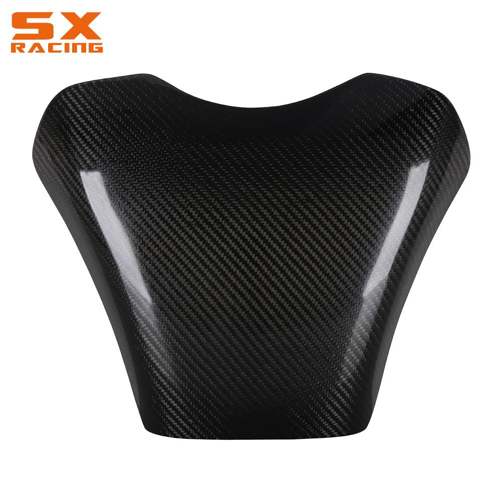 Motorcycle Accessories Carbon Fiber Gas Fuel Tank Cover Protector For HONDA CBR600RR <font><b>CBR</b></font> 600RR <font><b>CBR</b></font> <font><b>600</b></font> RR 2003 2004 <font><b>2005</b></font> 2006 image