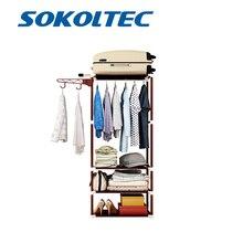 Fast Dispatch Sokoltec Clothes Hanger Floor Standing Clothes Hanging Storage Shelf Clothes Hanger Racks Bedroom Furniture