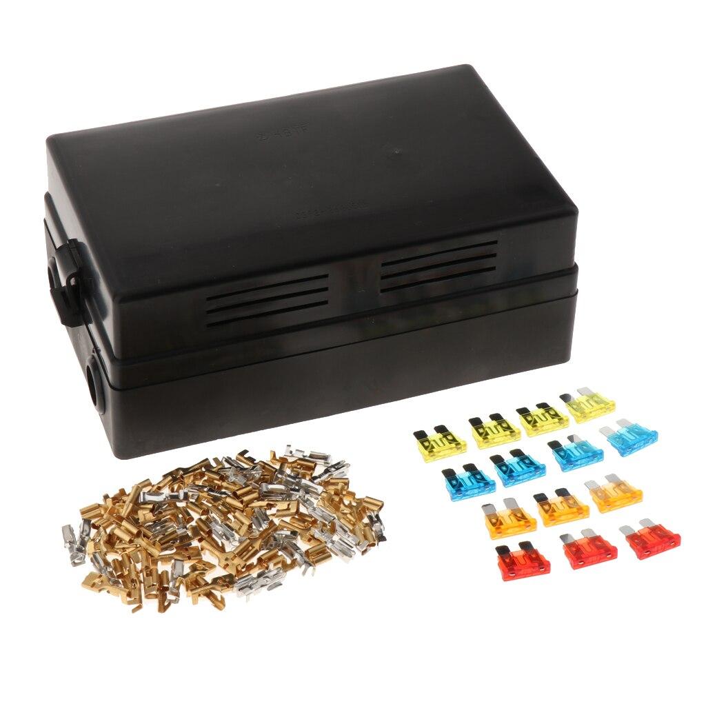 1 Set 18 voies lame fusible boîte voiture fusible support de la boîte Standard Circuit fusible boîte de support bloc