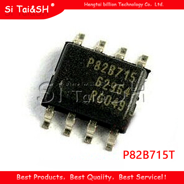 10PCS/lot  P82B715T P82B715 SOP8 Bus extension chip