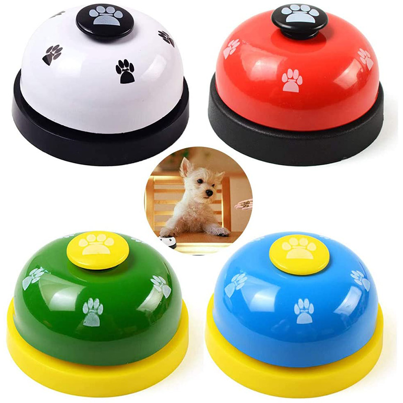 Pet Training Bells Dog Cat Training Eating Communication Press Call Bell Puppy Toilet Potty Training Interactive Toy-3