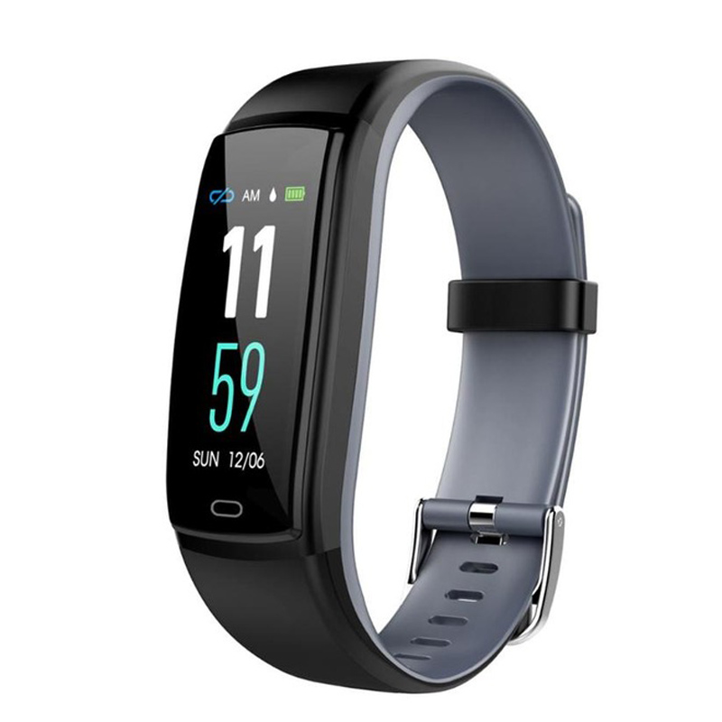 Smart Band Blood Pressure SmartBand Heart Rate Monitor Wristband Pedometer Female Physiological Reminder Fitness Bracelet Watch|Digital Watches| |  -