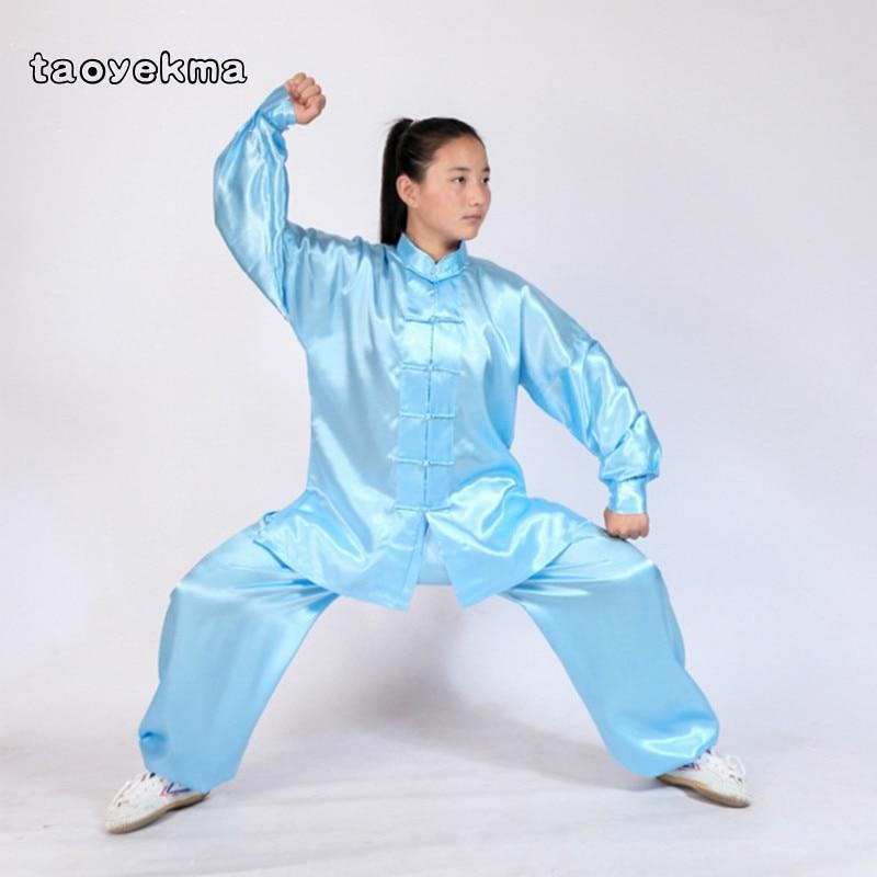 Long Sleeve Boys And Girls Changquan Tai Chi Suit Wushu Martial Arts Nanquan Wing Chun Uniforms