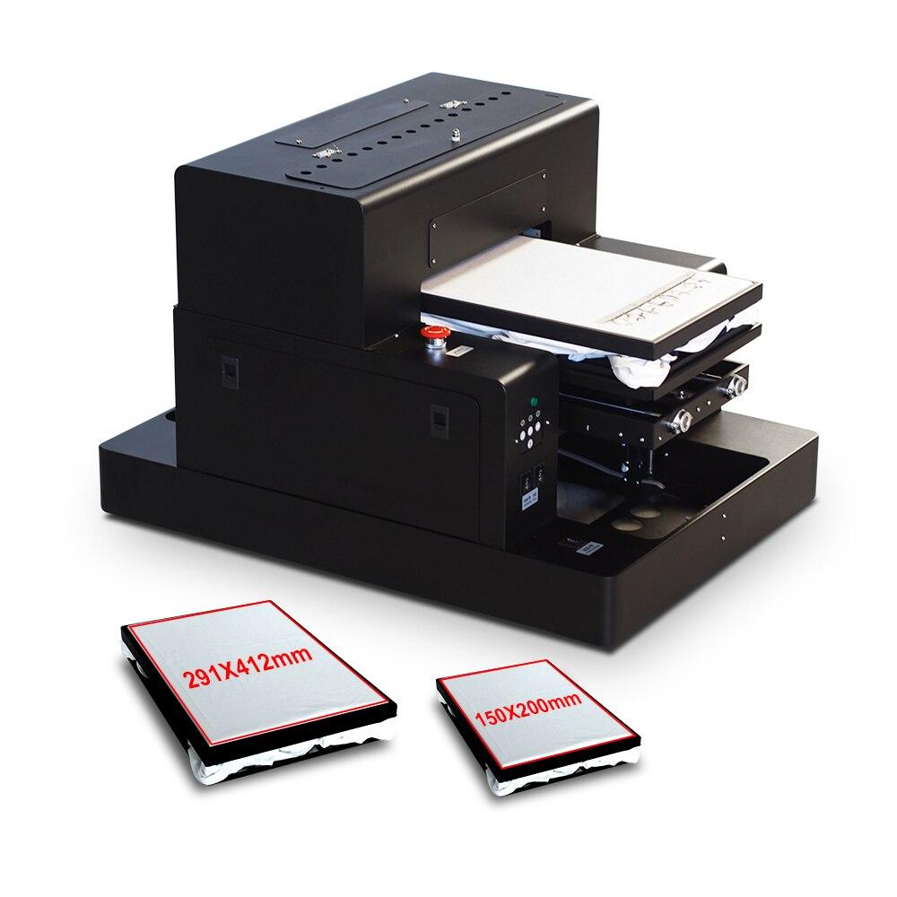 Colorsun Automatico A3 size t shirt macchina da stampa flatbed dtg stampante scuro Dei Jeans di colore della stampante con due vassoio con tessile inchiostro - 2