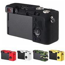 Top wzór tekstura gumowa obudowa silikonowa pokrywa ciała rama ochraniająca skóra dla Sony A7C Alpha 7C ILCE 7C aparat miękki