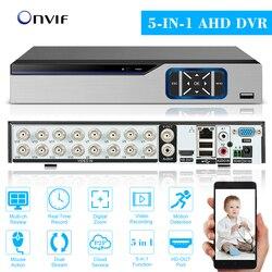 16CH 1080P Hybrid 5-in-1 DVR CCTV цифровой видеорегистратор DVR P2P удаленный мониторинг телефона для комплекта системы видеонаблюдения