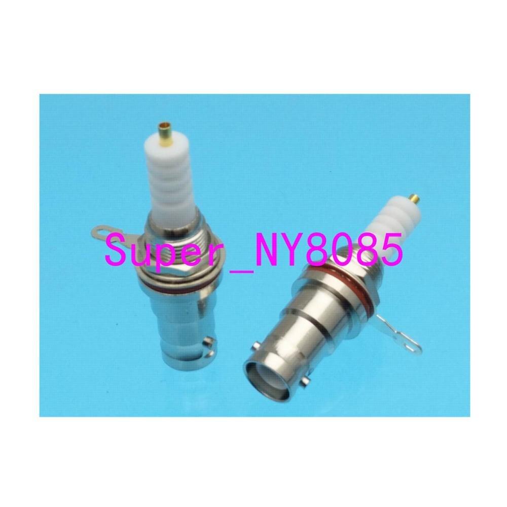 RF Connector SHV 5000V 5KV RP.BNC Female Jack Nut Bulkhead Solder Panel Mount Audio Speaker