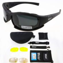DAISY X7 Polarized Photochromic Tactical Goggles Cycling Glasses Airsoft Safety Tactical Su