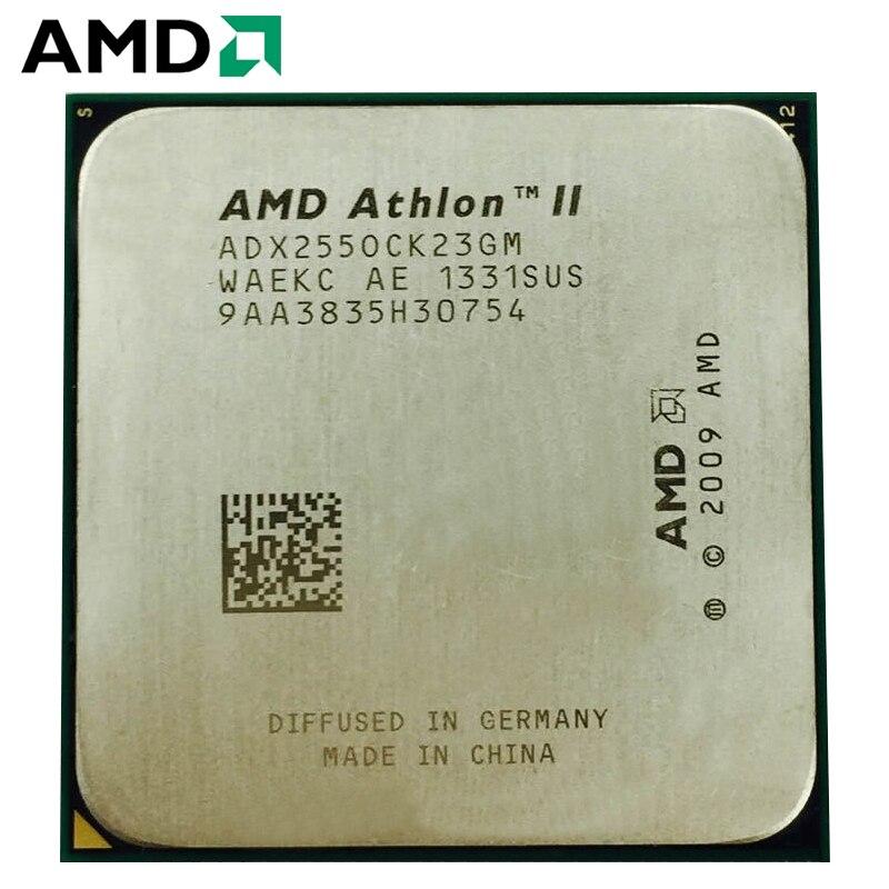 AMD Athlon II X2 255 3.1GHz Dual-Core CPU Processor Desktop 65W 2MB ADX255OCK23GQ/ADX255OCK23GM Socket AM3 1