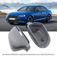 8T0857527D Left Driver Side Black Rearview Mirror Cover for AUDI A3 8P A4 B8 A5 A6 8T C6