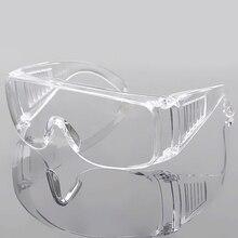 Прозрачные полированные защитные очки промышленные очки анти-брызг и пыле для строительной лаборатории химии класса