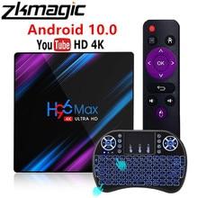 אנדרואיד 10.0 טלוויזיה תיבת H96MAX RK3318 חכם טלוויזיה תיבת 2.4G 5G הכפול Wifi BT4.0 4K 3D Android10.0 ממיר Yutube Google מדיה לשחק